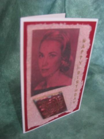Grace of Monaco Birthday Card