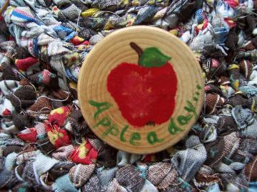 Apple A Day Pin