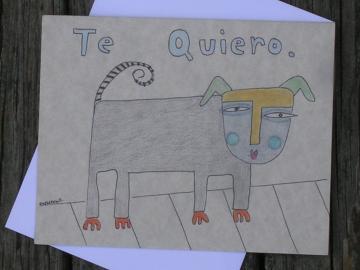 Te Quiero (I Love You) Card
