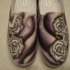 Roses Custom Designed Tattoo Inspired Shoes