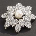 Beautiful Brooch, Vintage Style Pearl