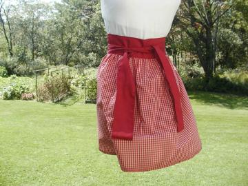 Ladies&#039;/Girls&#039; Half Apron-Country Design III
