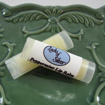 All-Natural Peppermint Lip Balm