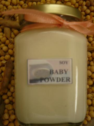 Soy Candle ~ Baby Powder