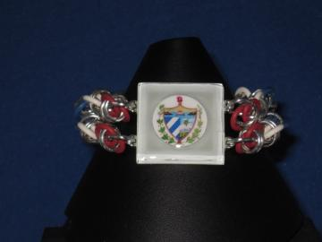 Flag, Patron Saint or Coat of Arms Bracelet