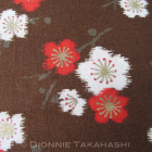 Japanese Design Fabric – Ume Blossom / Flowers