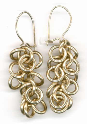 Shaggy loops earrings
