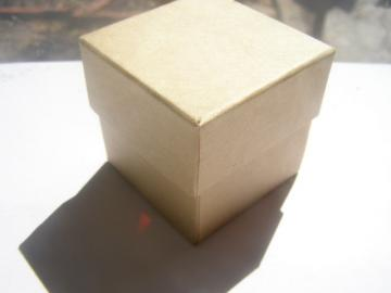 2 x 2 x 2 Jewerly Kraft Box with Filler