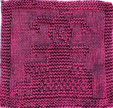 Knitting Cloth Pattern - JACK-In-The- BOX - PDF