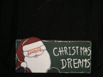 Wood, folk art, painted, Christmas, holiday,