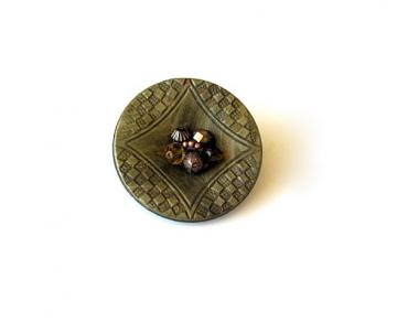 Vintage Button Pin
