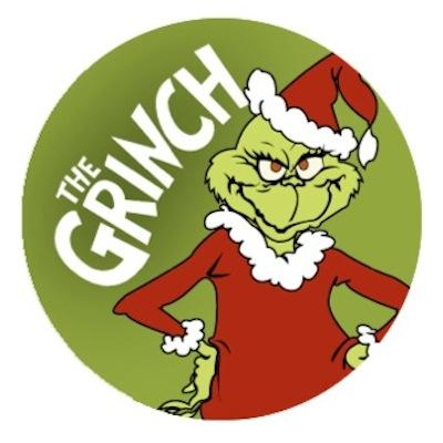 Dr. Seuss Grinch Christmas Edible Cookie and Cupcake Toppers - 24 ...