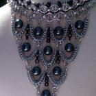Edwardian Splendor Chainmail Adjustable Choker