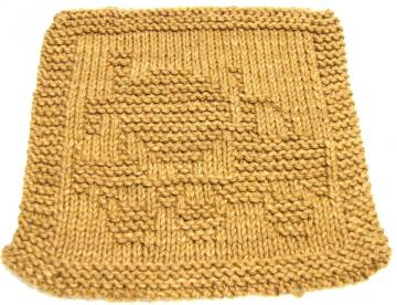 Knitting Cloth Pattern -  CEMENT TRUCK  - PDF