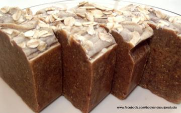 Honey Almond  Oatmeal Natural Soap