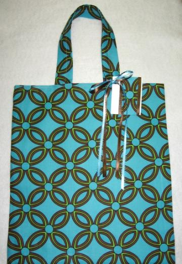 Missy / Reusable / Fabric Gift Bag Tote / Large / With Gift Tag