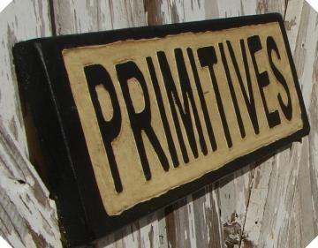 Primitives sign