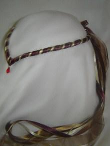 Isabella, Golden brown, deep maroon and gold Circlet