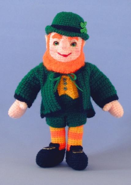 Craft Attic Resources: St. Patrick's Day Crochet Dishcloth