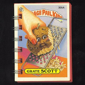 Garbage Pail Kids Topsy-Turvey Mini Journals - Split Personalities - Set of 4