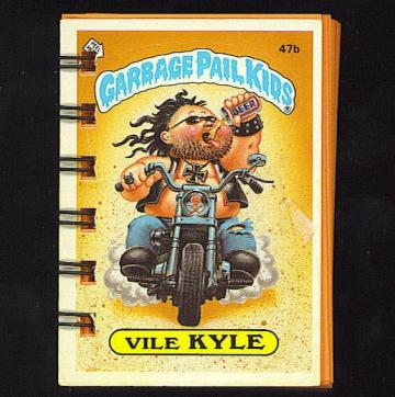 Garbage Pail Kids Topsy-Turvey Mini Journals - Set of 4 with Mismatched Covers