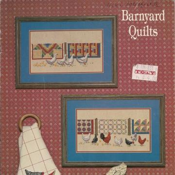 Barnyard Quilts Vintage Cross Stitch Booklet