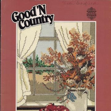 Good'N Country Vintage Cross Stitch Book