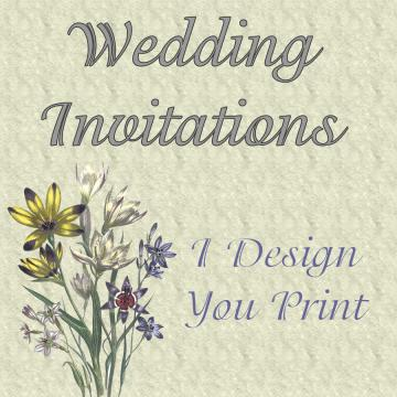 Wedding Invitations - Custom Designed