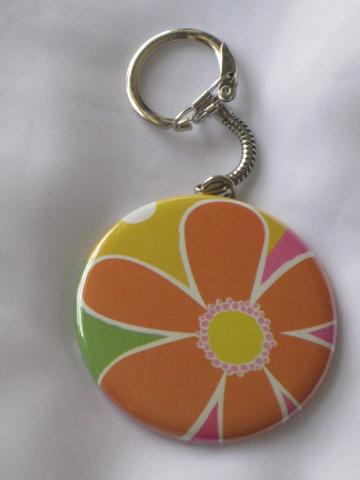Keychain - Bright Bold Blossom