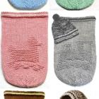 BABY COCOON Knitting Pattern - 2 for $11.5, Free Hat & Pod Knitting Patterns - SPECIAL