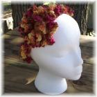 Autumn Crocheted Flower and Head Band