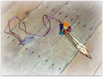 Chakra Prism - Pendulum - Beloved Collection - In-Touch Series - OOAK