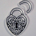 Locked in Love clear stamps