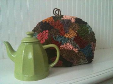 vintage VICTORIAN tea cozy