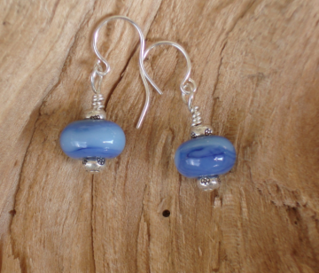 blue lake earrings