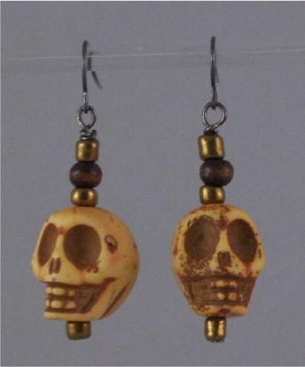Skull earrings no.4
