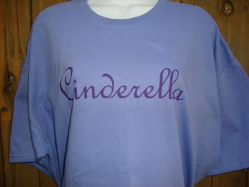 Cinderella Custom Tshirt