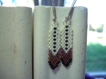 #2 Feather Beaded Earrings for Men and Women