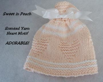 SWEETHEART HAT IN PEACH !