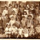 BONUS scan with Antique French Group Portrait Victorian Edwardian CHILDREN DIGITAL Scan Sepia or Black & White