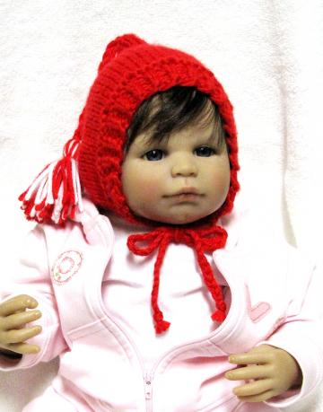 Gnome Baby Hat Knitting Pattern with Tassel in 3 Sizes - PDF - Permission to Sell Your Knits