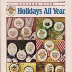 Holiday Cross Stitch Pattern Books