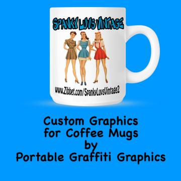 Coffee Cup Graphics - Graphics Customized