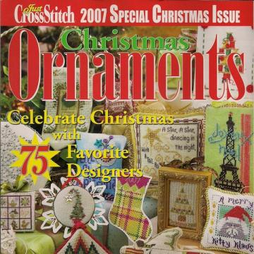 Just CrossStitch 2007 Christmas Ornament Magazine