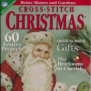 Cross Stitch Christmas Magazine 2000 Better Homes and Gardens