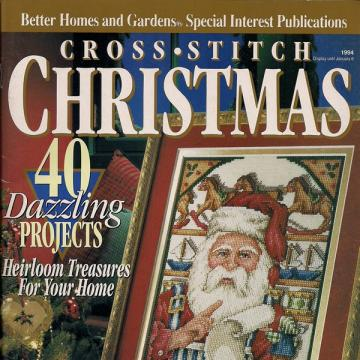 Cross Stitch Christmas Magazine 1994 Better Homes and Gardens