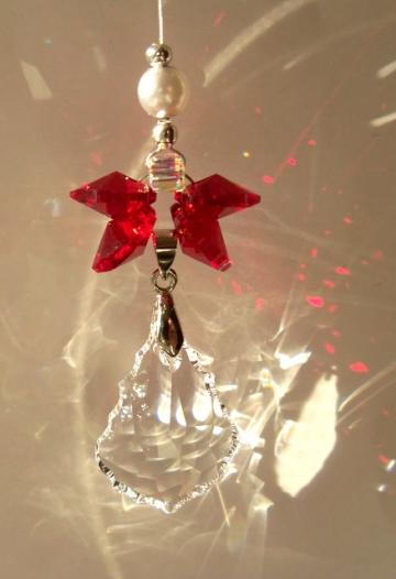 Sun Catcher - January Birthstone Angel