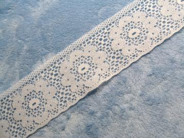 Flat White Lace 2 Inches Wide