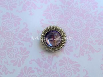 DARK PURPLE 18 MM Button
