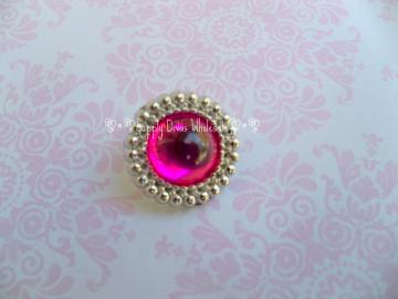 HOT PINK 18 MM Button